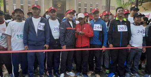 नेपाल चेम्बरको ७०औं वार्षिकोत्सवमा दौड,मणिकरत्न शाक्य तृतीय भए