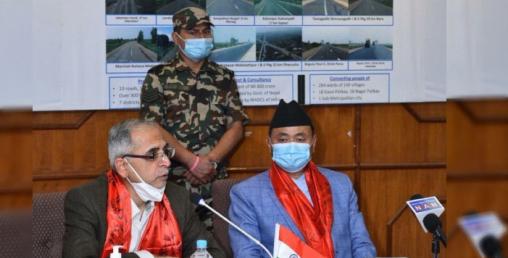 नेपालद्वारा तराई क्षेत्रमा भारतीय सहयोगमा १० सडक निर्माण