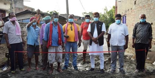 लकडाउन खुकुलो भएपछि विकास निर्माण कार्यमा तिब्रता