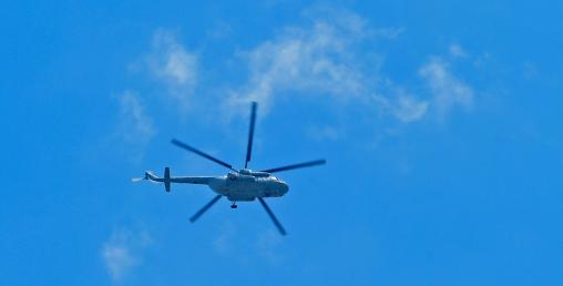 भारतीय हेलिकप्टर नेपालले गोली हानी खसाल्याे, पाइलट नियन्त्रणमा भन्दै भारतमा खैलाबैला