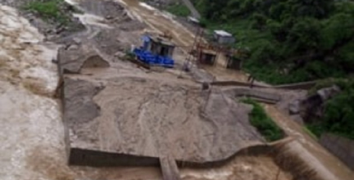 माण्डु हाइड्रोमा करिब ९ करोडको क्षति