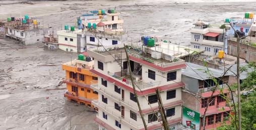 मनसुनको शुरुआतमै बाढी पहिरोः सातको मृत्यु, २५ बेपत्ता,१२९ घर बगायो