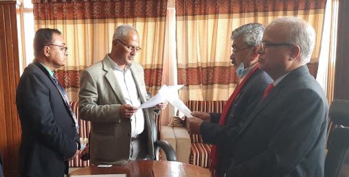महालक्ष्मी लाईफका सञ्चालकद्धारा सपथ ग्रहण