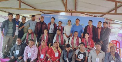 धरान र ढल्केवर कृषि उपज बजारमा माछापुच्छ्रे बैंकको क्युआर कोर्ड सेवा