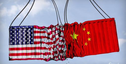 चीन र अमेरिकासँगको व्यापार खुम्चियो
