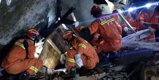 चीनमा भूकम्पः १२ जनाको मृत्यु, १ सय बढी घाइते