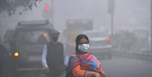 नयाँ दिल्लीमा वायु प्रदूषणको मात्रा अहिलेसम्मकै बढी