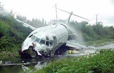 विमान दुर्घटनामा पाँचको मृत्यु