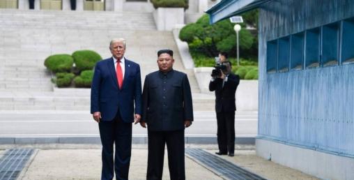 अमेरिकी राष्ट्रपति ट्रम्प किमसँग गोप्य वार्ता गर्न उत्तर कोरिया पुगे