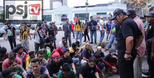 मलेसियामा बस्ने साढे ९ हजार विदेशी श्रमिक पक्राउ