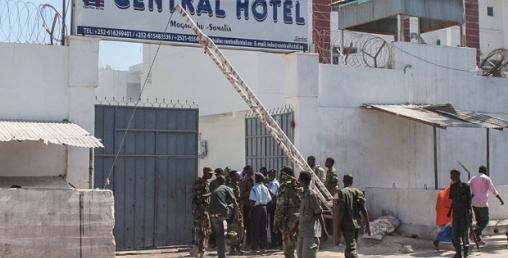 सोमालियामा होटेलमा आक्रमण, पाँचको मृत्यु