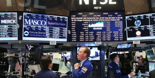 अमेरिकी शेयर बजारमा भुइँचालो, डाउजोन्स ९०० अंकले घट्यो