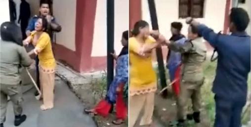 महिलालाई निर्घात कुटपिट गरेको भिडियो भाइरल भएपछि... (भिडियोसहित)