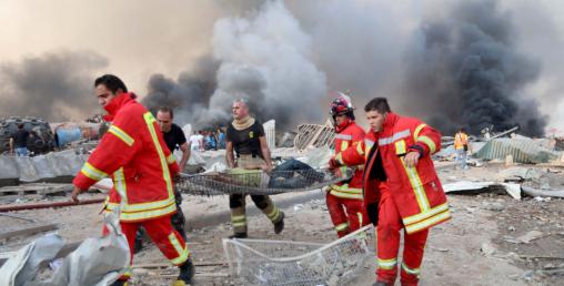 लेबनान विस्फोटमा १३५ को मृत्यु, चार हजार भन्दा बढी घाइते