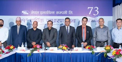 नेपाल इन्स्योरेन्सको लाभांश पारित, अब चुक्ता पुँजी १ अर्ब १५ करोडमाथि पुग्यो