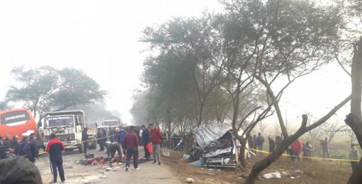 दुर्घटनामा ८ महिने बालक सहित आठ जनाको मृत्यु, १३ जना घाइते