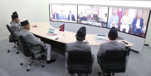 कोरोनाबारे छलफल गर्न केहिबेरमा सार्क राष्ट्रबीच भिडियो संवाद हुँदै