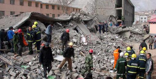चीनमा शक्तिशाली भूकम्प, एकको मृत्यु, २९ घाइते, २१५ घरमा क्षति