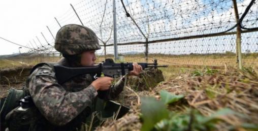उत्तर- दक्षिण कोरियाका सेनाबीच सिमानामा गोली हानाहान