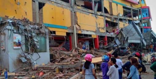 इन्डोनेसियामा ६.५ म्याग्नीच्यूडको शक्तिशाली भूकम्प