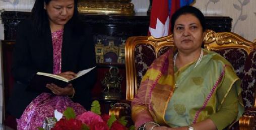 नेपाली मूलका बर्मेलीले राष्ट्रपति विद्यादेवी भण्डारीसँग राखे यस्ता माग