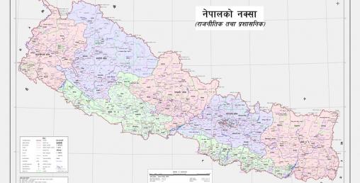 नेपालको नयाँ नक्सा सार्वजनिक, भूभाग ३ सय ३५ वर्ग किलोमिटर बढ्यो