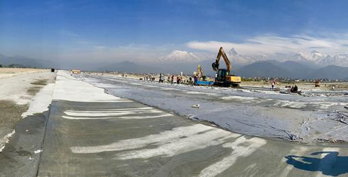 पोखरा क्षेत्रीय अन्तर्राष्ट्रिय विमानस्थल निर्माण कार्य जारी
