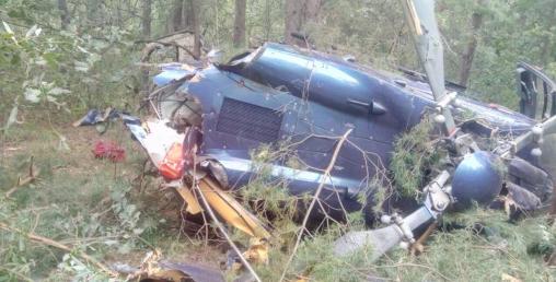 युक्रेनमा हेलिकप्टर दुर्घटना, पाइलटको मृत्यु