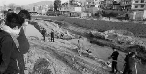 हनुमन्ते करिडोर किनारमा विभत्स शव फेला
