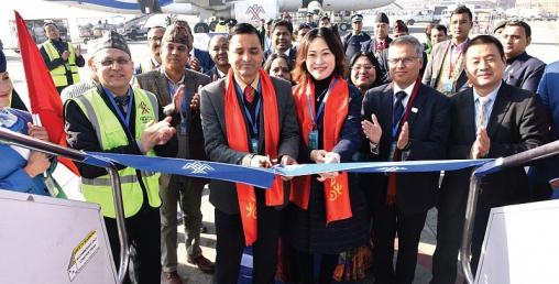 हिमालय एयरलाइन्सद्वारा चीनको चोङ्छिङमा उडान शुरू