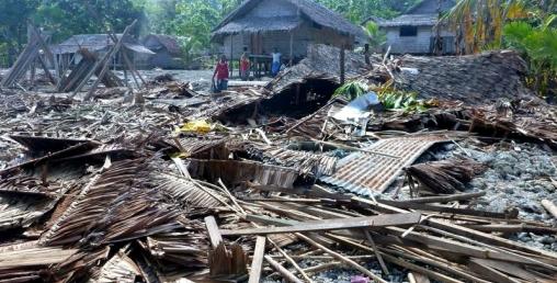 इन्डोनेसियामा शक्तिशाली भूकम्प