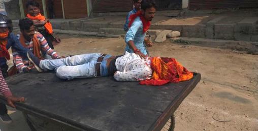कपिलवस्तुको कृष्णनगरमा अनिश्चितकालिन कर्फ्यू, प्रहरीले गोली चलायो, एकको मृत्यु