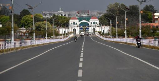 'लकडाउन'ले काठमाडौं उपत्यका सुनसान, देशभर प्रभाव
