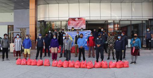 काठमाडौं महानगर वडा–५ ले एक हजारलाई बाड्यो राहत