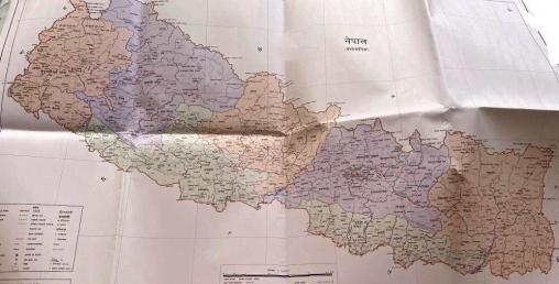 नेपालको नयाँ नक्सा र निशान छाप अन्तर्राष्ट्रिय समुदायमा पठाउने तयारी