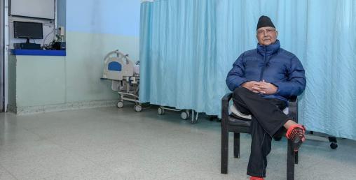 प्रधानमन्त्रीले पठाए अस्पतालबाटै भिडियो सन्देश (भिडियो सहित)