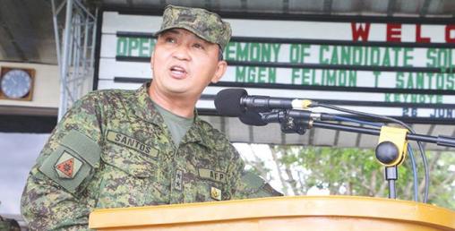 फिलिपिन्सका सैन्य प्रमुखलाई कोरोना संक्रमण