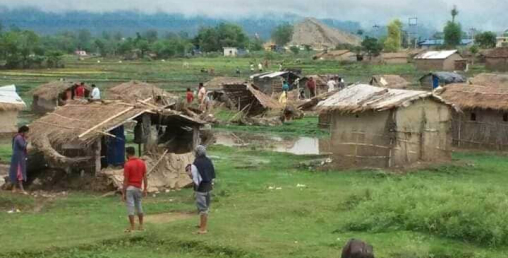 सुकुम्बासी बस्तीमा माओबादी नेताको 'गुण्डाराज'