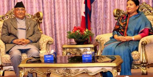 राष्ट्रपति भण्डारी र प्रधानमन्त्री ओलीको मिलेमतोमा फेरि असंवैधानिक कदम