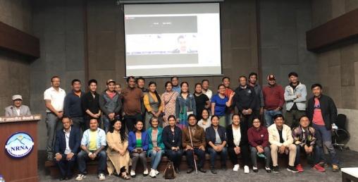 नेपाली श्रमिकहरुका लागि मानसिक स्वास्थ्य सम्बन्धि तालिम