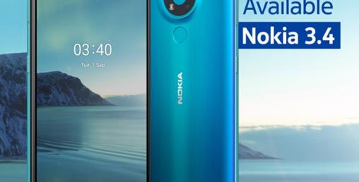 नोकिया ३.४ मोबाइल नेपाली बजारमा, कति छ मूल्य ?