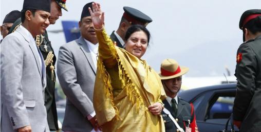 राष्ट्रपति भण्डारी चीन प्रस्थान, महत्वपूर्ण भेटभाट हुने