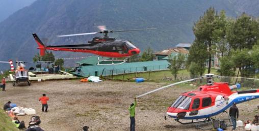 हेलि कम्पनीलाई उद्दार र कार्गोमा भ्याइनभ्याई, हेलिकप्टरमा भने पाइलट अभाव
