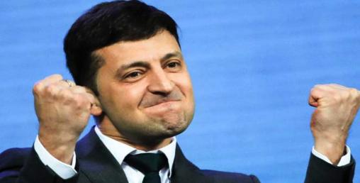 ७३ प्रतिशत मतसहित युक्रेनी राष्ट्रपतिमा हास्यकलाकार विजयी