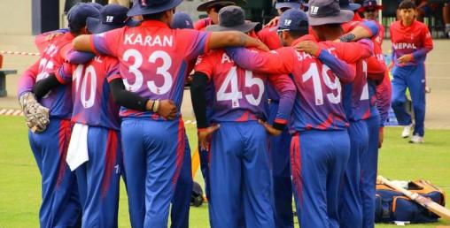 नेपाल पाँच विकेटले विजयी