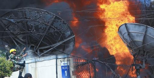 सुविसु कार्यालयमा डिजेलबाट आगो,बीमा मात्रै एक अर्ब