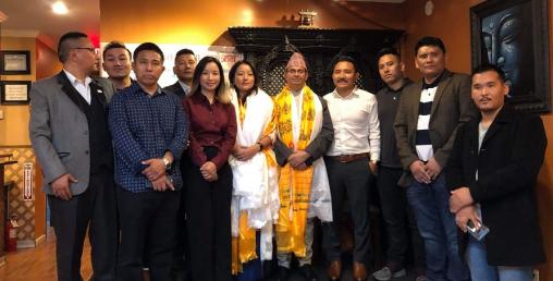 अमेरिकामा पर्यटन दूत छिरीङ डोल्मा शेर्पा सम्मानित