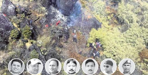 'रविन्द्र अधिकारी चढेको हेलिकप्टर ३ कारणले दुर्घना'