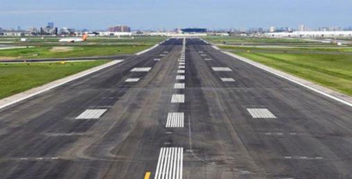बलेवा विमानस्थलको धावनमार्ग कालोपत्रको काम पुनः शुरु