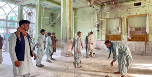 अफगानिस्तानको शिया मस्जिदमा बम आक्रमण  ४७ जनाको मृत्यु, ७० जना घाइते